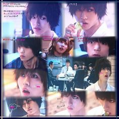 "L from Ep.5, Aug/02/'15   [Preview, Ep.7] https://www.youtube.com/watch?v=CODDPN_PGt8    Kento Yamazaki, Masataka Kubota, Hinako Sano, Yutaka Matsushige.  J drama series ""Death Note"", 08/02/'15 [Ep. w/Eng. sub] http://www.dramatv.tv/search.html?keyword=Death+Note+%28Japanese+Drama%29"