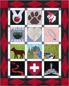 Twilight Crafts Block of the Month layouts