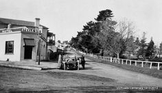Junction of Princes Highway East with road to Upper Beaconsfield. VicRoads Centenary 1913-2013.
