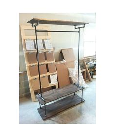 NEW Extra Large Retail Display Rack with Base & Top Shelves by pennylanewhitneyj on Etsy