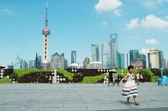 The Bund. Shanghai, China.