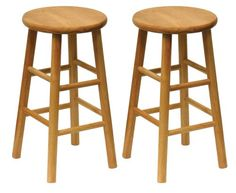 Special Offers - Winsome Wood Wood 24-Inch Counter Stools Set of 2 Natural Finish - In stock & Free Shipping. You can save more money! Check It (November 15 2016 at 03:28AM) >> http://counterstoolsusa.net/winsome-wood-wood-24-inch-counter-stools-set-of-2-natural-finish/