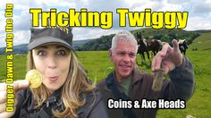 Digger Dawn & Twig the Dig - Tricking Twiggy. Coins & Dreams of Bronze age axe heads! Axe Head, Metal Detecting, Digger, Bronze Age, Twiggy, Dawn, Coins, Dreams, Rooms