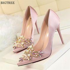 9 mejores imágenes de zapatos de perla  e337f4626191