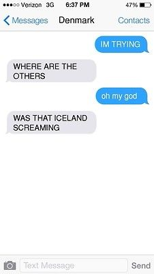Texts From Nordics (Part 2/5) << Norway accidentally summoned the Nordics 2ps... NORWAYYYY!!!