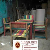 kursi Kafe Rustik Minimalis Kayu Jati Berkualitas - Singa Jati Outdoor Furniture, Outdoor Decor, Modern, Collections, Home Decor, Trendy Tree, Decoration Home, Room Decor, Interior Design