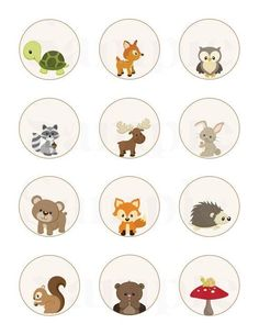 Trendy Baby Shower Woodland Creatures For Kids Boy Baby Shower Themes, Baby Shower Favors, Baby Shower Parties, Baby Boy Shower, Woodland Theme, Woodland Baby, Forest Animals, Woodland Animals, Forest Party