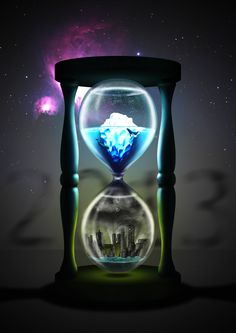 Clock Hourglass Time:  #Hourglass.                                                                                                                                                                                 Mehr Time Piece Tattoo, Vikings, Father Time, Jar Art, Prince Of Persia, Wallpaper Space, Environmental Art, Hourglass, Mother Earth