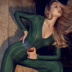 BALMAINさんはInstagramを利用しています:「POWER UP #GigiHadid photographed by #HenriqueGendre wears #Balmain Pre-Fall 2015 Look 22 styled by #LuisFiod for #VogueBrasil」