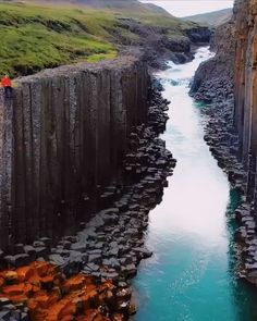 The beautiful orange-striped basalt columns of Iceland are a usual top pick for most people's bucket Image Nature, Nature Gif, Nature Videos, Landscape Photography, Nature Photography, Photography Tips, Scenic Photography, Aerial Photography, Night Photography