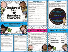 Wanted: Lots of Classroom Leaders!