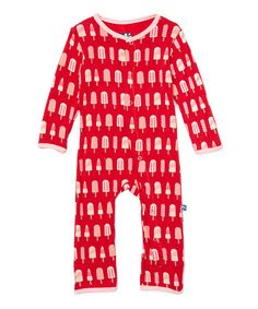Look at this #zulilyfind! Balloon Popsicle Coveralls - Infant
