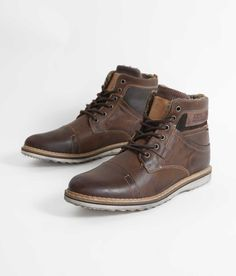 2b61e980 Bullboxer Zander Boot - Men's Shoes in Brown | Buckle Men's Shoes, Leather  Boots,
