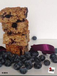 Blueberry flapjack to jump to London in a bite.