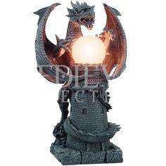 Dragon Castle Lamp - CC11691 from Medieval Collectibles