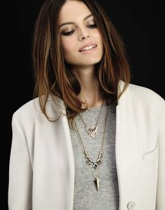 Pile on the pendants! #layers #AW14