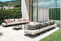 This is an elegant Marcel Sofa which is the perfect outdoor piece that can leave an lasting impression.