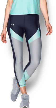 Under Armour Women's Under Armour HeatGear Color Block Ankle Crop Leggings #ad