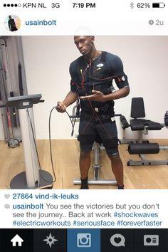 Van Sylvie Meijs naar Usain Bolt... #mihabodytec www.irmajanssen.com