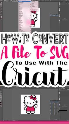 Cricut Air 2, Cricut Help, Cricut Vinyl, Inkscape Tutorials, Cricut Tutorials, Cricut Ideas, Adobe Illustrator, Illustrator Tutorials, Silhouette Cameo
