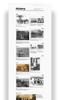 Timeline design