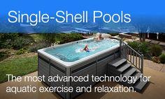 9 Garden Swimming Pools Ideas Swim Spa Swimming Pools Endless Pool