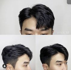 Korean Haircut Men, Asian Man Haircut, Korean Men Hairstyle, Hair Korean Style, Hair Style Korea, Hair Inspo, Hair Inspiration, Medium Hair Styles, Long Hair Styles
