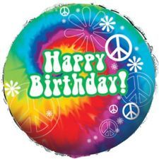 Peace Sign Birthday Cakes Images