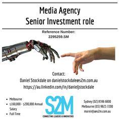 Job Posting, Melbourne, Investing, Career, Positivity, Technology, Digital, Carrera, Engineering