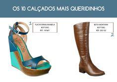 Os 10 sapatos preferidos das mulheres! Clique na foto para conferir os outros da lista :)