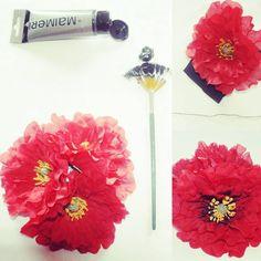 Spilla bouquet - Tutorial http://poppyredhair.blogspot.it/2015/09/spilla-bouquet-tutorial.html?m=1 #Diy #Fiori #Handmade #ILoveBrooch #Papaveri #PoppyRed #Riciclando #Rinnovando #Spille #Tutorial