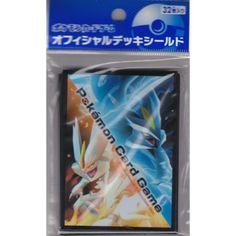 Pokemon Center 2012 Black White Kyurem Set Of 32 Deck Sleeves