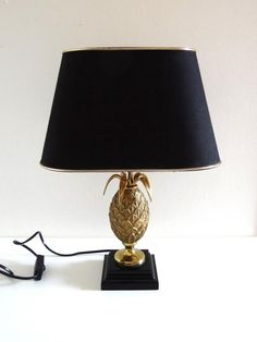 Lampe ananas vintage style Maison Charles années 70