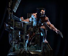 ArtStation - Marvel Weapon X 1/4 Statue for XM Studios, Daniel Bel