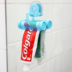 Bathroom gadgets on pinterest bathroom kitchen gadgets and home equity - Keep toothpaste kitchen ...