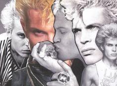 BillyIdol BoyCrush Collage Series