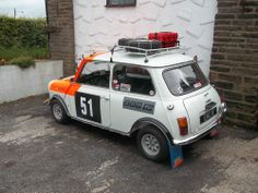 Rally mini Mini Cooper Classic, Classic Mini, Minis, Mini Driver, Mini Lifestyle, Mini Stuff, Mini One, Tamiya, Vw Bus