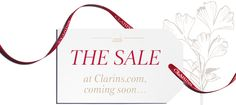 Clarins Special Sale Preview, Sign up for the event invitation - The Blog of one Balgarka.co.uk
