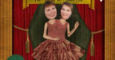 Treat a friend to twice the usual amount of freaky Halloween fun by casting her as the amazing Two Headed Girl!