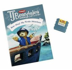 Hasbro Playskool T.J. Bearytales - Bear Ahoy! My Pirate Adventure by Hasbro. $17.25. From the Manufacturer                Welcome to the amazing world of T.J. BEARYTALES, where it's always time for a story! Together with T.J., your child enters a big world of imagination where silly songs and belly laughs lead the way to a lifetime adventure in learning! When there's a buried treasure to be found, T.J. teams up with Captain Bearclaw to scout it out! Will X mark the spot after...