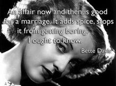 bette davis quotes - Hilarious!