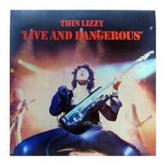Thin Lizzy - Live And Dangerous (Vinyl, LP, Album) at Discogs