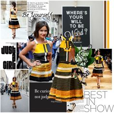 """""""Miroslava Duma in Proenza Schouler"""" by crazy-daisy1 ❤ liked on Polyvore"""