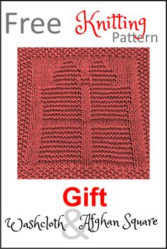 Knitted Dishcloth Patterns Free, Knitting Squares, Knitted Washcloths, Crochet Dishcloths, Easy Knitting, Knitting Patterns Free, Knitting Ideas, Charity Knitting, Crochet Patterns
