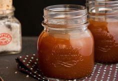 Sós karamellás szósz recept képpel. Hozzávalók és az elkészítés részletes leírása. A sós karamellás szósz elkészítési ideje: 15 perc