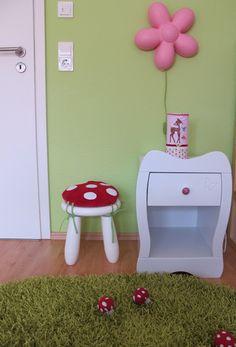 Sissis Traumland: Pilzhocker fürs Mädchenzimmer