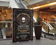 HALLOWEEN 2017 – Indoor large poster display for Halloween 2017 presented inside a shopping centre . #graphicdesign #advertising #marketing #printout #poster #largeposter #indoordisplay #banner #shoppingcentre #Halloween #HalloweenParty