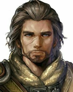 Human Male Ranger - Pathfinder PFRPG DND D&D d20 fantasy