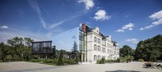 Gallery of Campus Pernod Ricard University / Cyril Durand Behar Architectes - 3 Pernod Ricard, Metal Wall Panel, Adaptive Reuse, Facade, University, Street View, Mansions, House Styles, Gallery