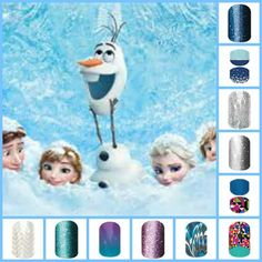 Who doesn't love a little FROZEN? Some of these wraps will be discontinued at the end of the month, so if you would like to snag any of these for you or a little one, for this winter you might want to order them soon. Lots of wraps are starting to go out of stock so I would jump on it! http://www.lisakwalker.jamberrynails.net/category/going-going-gone